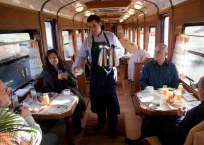 Breakfast La Robla Train